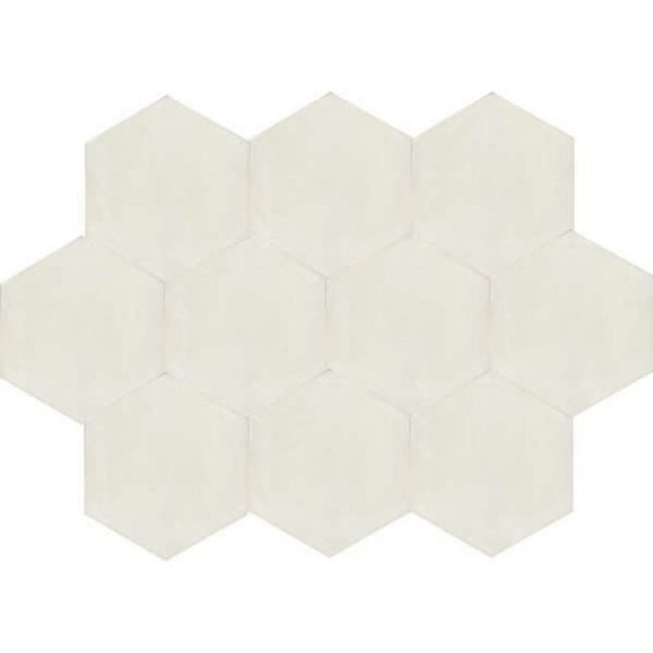 Moroccan Encaustic Cement Hexagonal Artic 1
