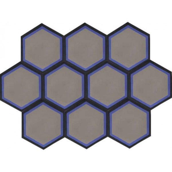 Moroccan Encaustic Cement Hexagonal Artic 3