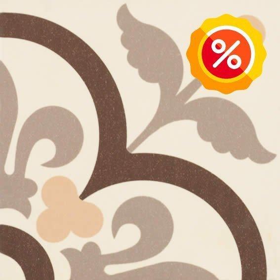 Eternia Choco Glazed Ceramic 20cm x 20cm