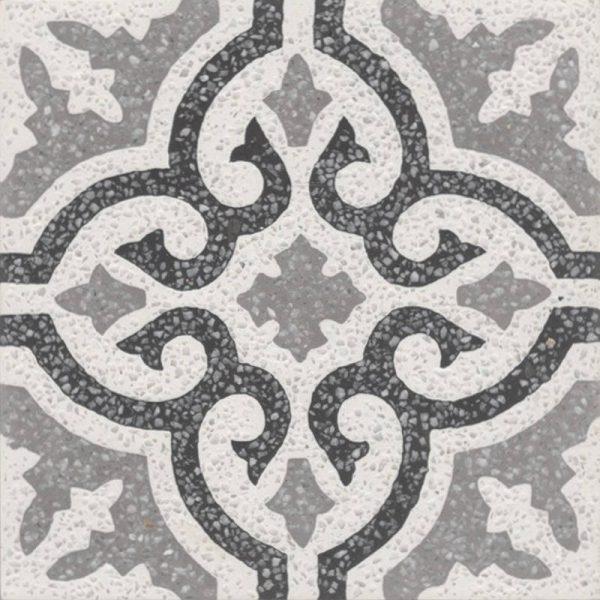 Moroccan Encaustic Cement Terrazzo Pattern 03m