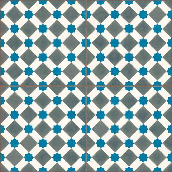 Oxford Blue Grey 45cm x 45cm