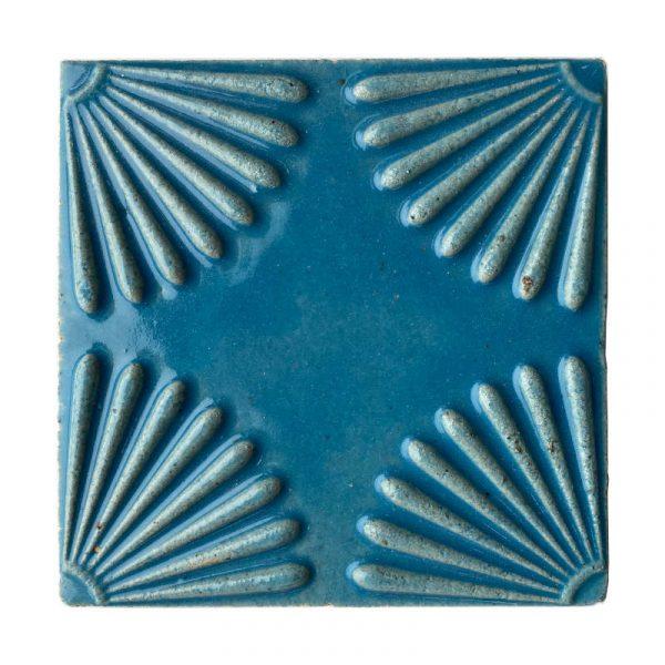 Zellige Daisy Light Blue 15cm x 15cm