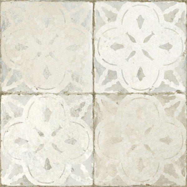 Aurora White Glazed Ceramic 45cm x 45cm