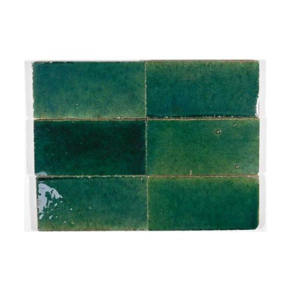 Zellige Jade 15cm x 7.5cm