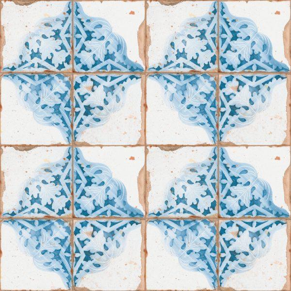 Artisan Decor Glazed Ceramic 33cm x 33cm