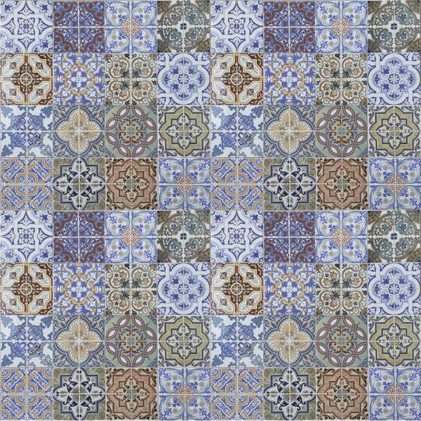 Casablanca Glazed Ceramic 20cm x 20cm
