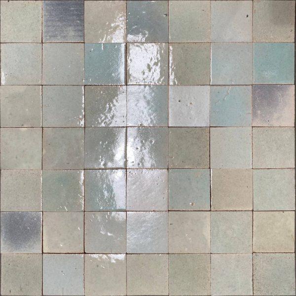 Zellige Soft Mint 10cm x 10cm