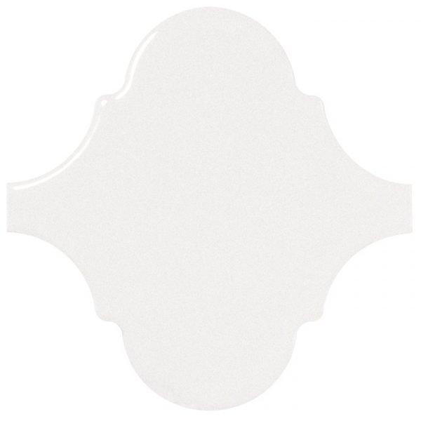 Alhambra White 12cm x 12cm