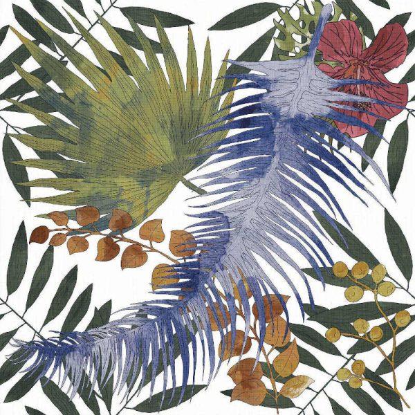 Tahiri Garden 25cm x 25cm
